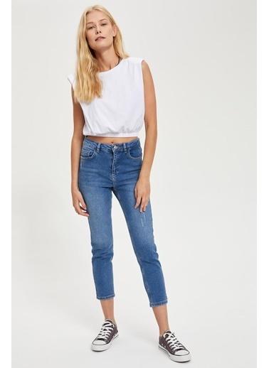 DeFacto Petite Skinny Fit Jean Pantolon Mavi